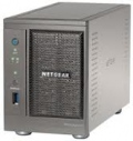 NETGEAR RNDU2000-100PES - ReadyNAS ULTRA 2, 2-bay 0TB storage (empty, max 6TB), iSCSI, Intel Atom 1.8GHz single core